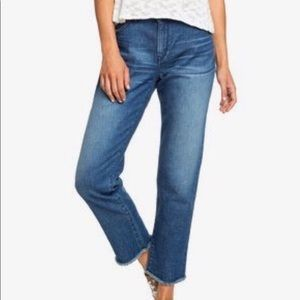 NWT Roxy Good Story Straight Fit Jeans
